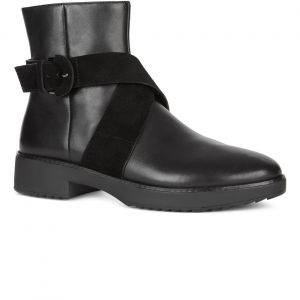 Mona Buckle Ankle Boots
