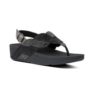 Paisley Rope Back-Strap Sandals