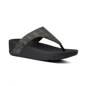 Lottie Glitter Stripe Toe-Thongs
