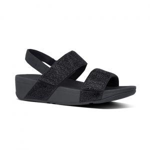 Mina Crystal back-Strap Sandals