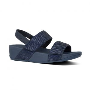 Mina Crystal back-Strap Sandals