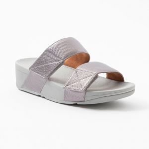 Mina Textured Glitz Slides