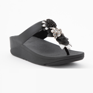 Fino Floral Cluster Toe-Post Sandals