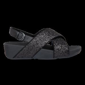 Lulu Glitter Back-Strap Sandals PU Glitter