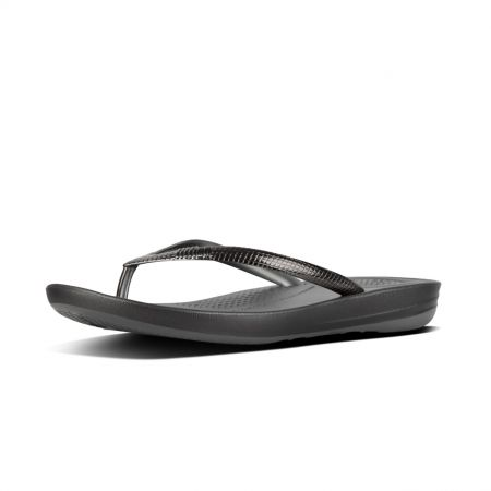 Iqushion Ergonomic Flip-Flops Mirror Metallics