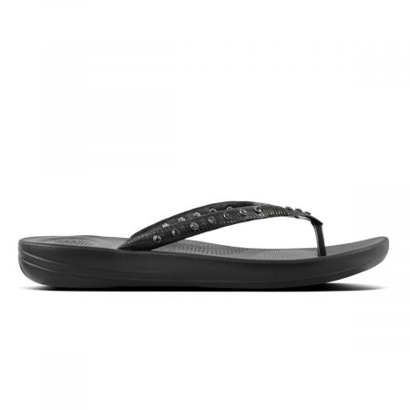 iqushion ergonomic flipflops crystal