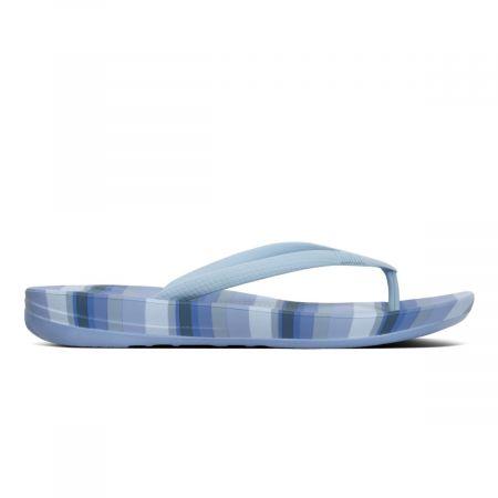 iqushion ergonomic flipflops stripey