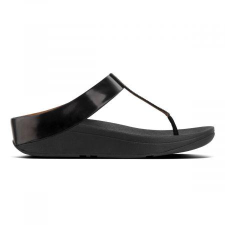 Fino Crystal Toe thong sandals