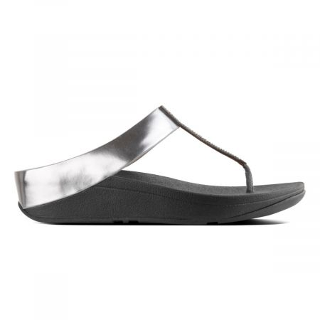 Fino Crystal Toe thong sandals