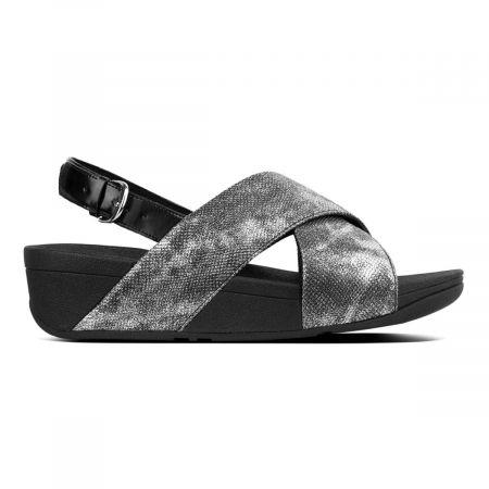 Lulu Cross back strap sandals